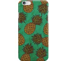 WATERCOLOUR EDITIONS - PINEAPPLE iPhone Case/Skin