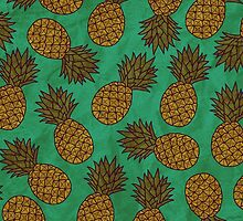 WATERCOLOUR EDITIONS - PINEAPPLE by tosojourn