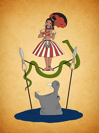 Jungle Cruise vs. Haunted Mansion by Tiffany Bailey