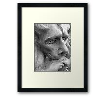 Gently weeping   Framed Print