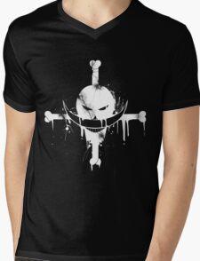 Whitebeard Pirates - white Mens V-Neck T-Shirt