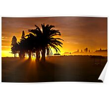 Sunrise at Port MacQuarie  Poster