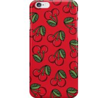 CHERRY - RED iPhone Case/Skin