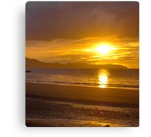 Sunset at Carramore, Louisburgh, Co Mayo Canvas Print
