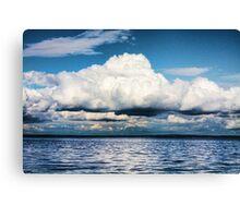Above the Sea Canvas Print