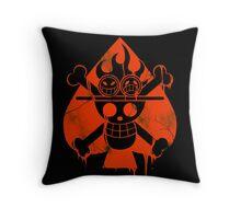 Ace - Spade Pirates Throw Pillow