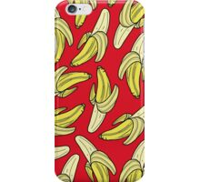 BANANA - RED iPhone Case/Skin