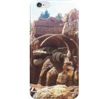 thunder mountain dinosaur iPhone Case/Skin