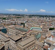 Roman rooftops by CiaoBella
