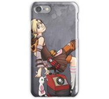Lady Tina of Blowupyourfaceheim iPhone Case/Skin
