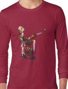 Lady Tina of Blowupyourfaceheim Long Sleeve T-Shirt