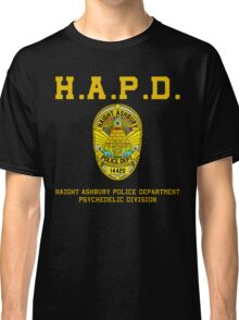 HAIGHT ASHBURY POLICE DEPT. color Classic T-Shirt
