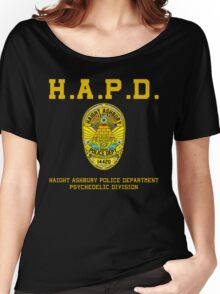 HAIGHT ASHBURY POLICE DEPT. color Women's Relaxed Fit T-Shirt