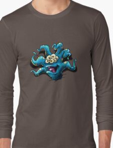Happy Tentacle head chest burster Long Sleeve T-Shirt