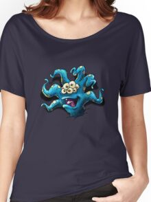 Happy Tentacle head chest burster Women's Relaxed Fit T-Shirt