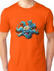 Happy Tentacle head chest burster Unisex T-Shirt