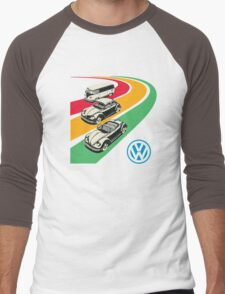 vintage vw Men's Baseball ¾ T-Shirt