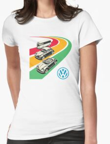 vintage vw Womens Fitted T-Shirt