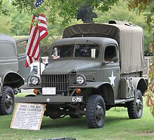 WWII 1941 Dodge 1/2 ton Army Truck by DonnaMoore