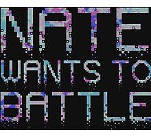 Crumbled Pixels | NateWantsToBattle Photographic Print