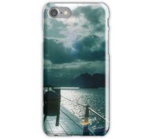 Front of SS Narvik Post boat from Narvik to Svolvaer Norway 19840620 0040 iPhone Case/Skin