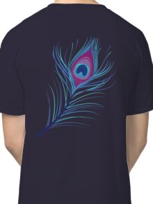 the peacock feather Classic T-Shirt