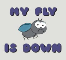 My Fly Is Down by Andrew Alcock