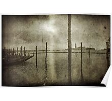 Scratching Venice Poster