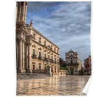 Piazza Duomo - Siracusa Poster