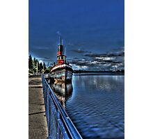 Old Tug Boat Photographic Print