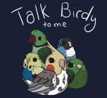 Talk Birdy to Me One Piece - Short Sleeve