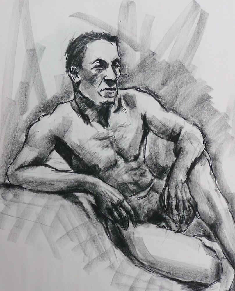 John our regular male model by Mick Kupresanin