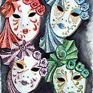 Venetian Masquerade by Beth A