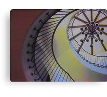 Spiral Stairs Canvas Print