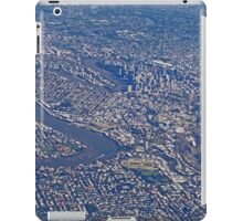 Aerial, Brisbane , Queensland, Australia iPad Case/Skin