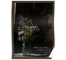 Country Bouquet Poster