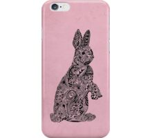 Rabbit_Pink iPhone Case/Skin
