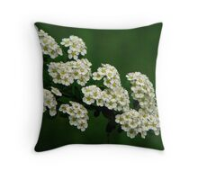 Flowers are free Throw Pillow