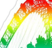 London Eye Rainbow Sticker