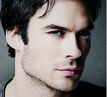 Ian Somerhalder Poster [small] (&more) by ANamelessPerson