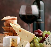 Wine and Cheese by Danielle Coupland