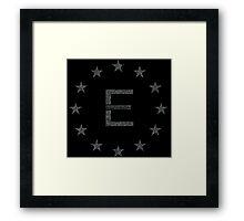 Enclave Matrix Framed Print