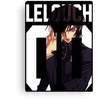 Lelouch 00 Canvas Print