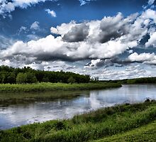 low clouds by Cheryl Dunning