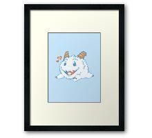 Poro Buddy Framed Print