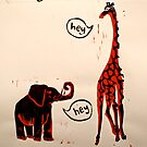 The Elephant & The Giraffe by Clare Lawrence