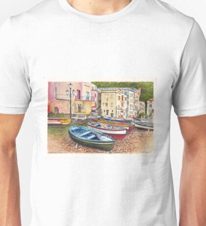 Sorrento Foreshore, Italy Unisex T-Shirt