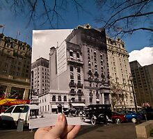 Looking Into the Past: Willard Hotel, Pennsylvania Ave, Washington, DC by Jason Powell