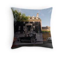 Looking Into the Past: Carvel Hall, Annapolis, MD Throw Pillow