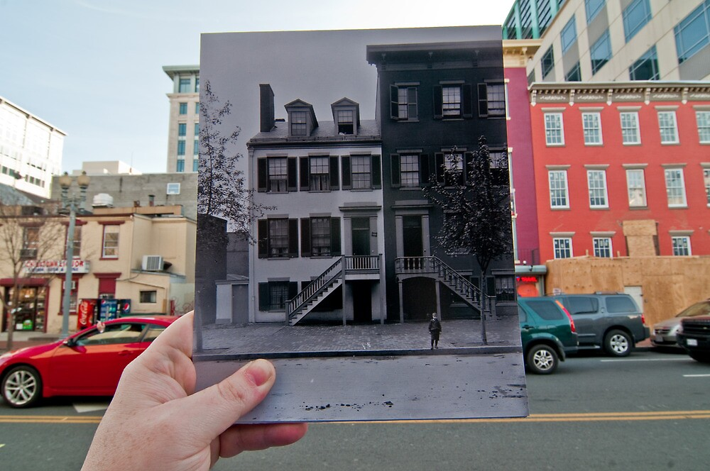 Looking Into the Past: Mary Surratt House, Washington, DC by Jason Powell